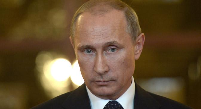 Präsident Putin schlägt einen Regierungsumzug vor.  Foto: AFP/East News