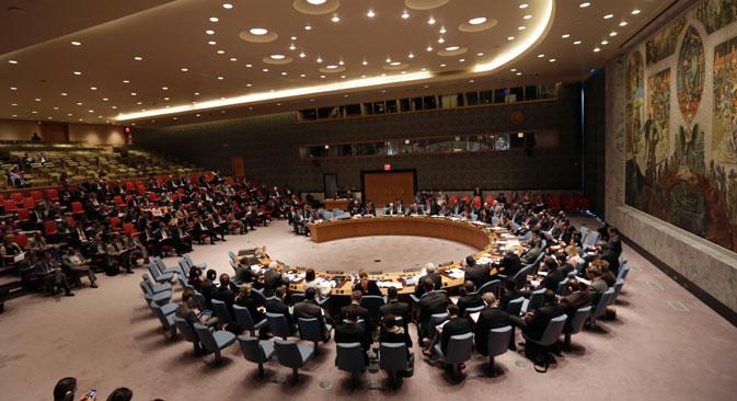 Russland setzt bei der UN-Vollversammlung auf politischen Dialog. Foto: AP