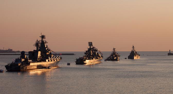 Russland schickt mehr Soldaten auf die Krim. Foto: Pressebild