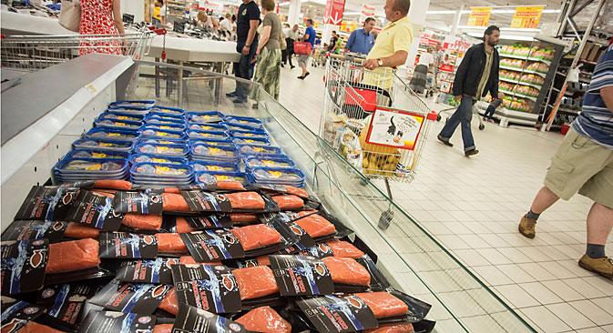 Für viele Lebensmittel wurden neue Lieferanten gefunden. Foto: DPA/Vostock Photo