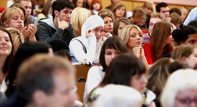 In Russland wird über Kopftuchverbote in Bildungseinrichtungen debattiert. Foto: PhotoXPress