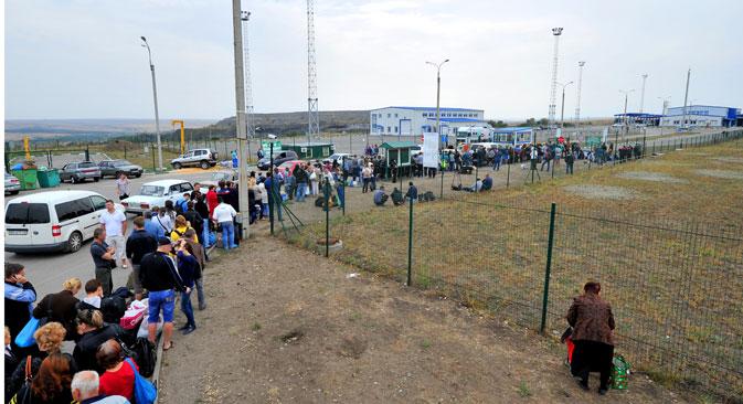 Wer aus der Ukraine kommt, erhält schneller einen russischen Pass. Foto: Sergej Piwowarow/RIA Novosti