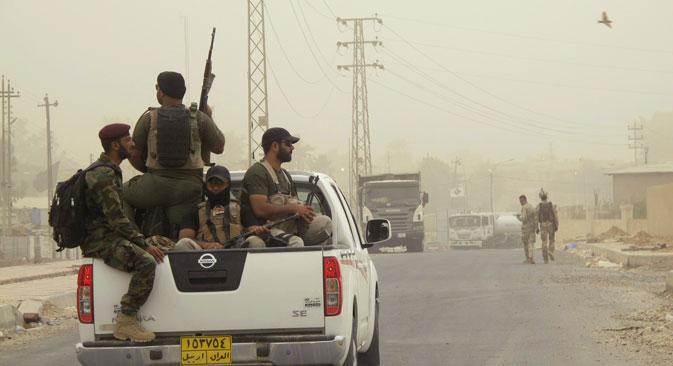 Russland fürchtet, dass die USA den nachdrücklichen Bitten der Freien Syrischen Armee nachgeben und Angriffe ihrer Verbündeten nicht nur auf Stellungen der Islamisten, sondern auch auf Assad-Truppen zulassen könnten. Foto: Reuters