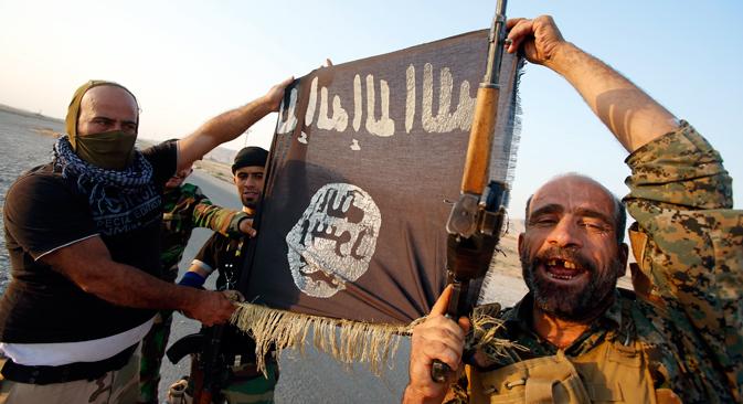 Russland wurde auf der Pariser Irak-Konferenz von Außenminister Sergej Lawrow vertreten. Russland kritisierte, dass Syrien und der Iran nicht zur Teilnahme an der Konferenz eingeladen worden waren. Foto: Reuters