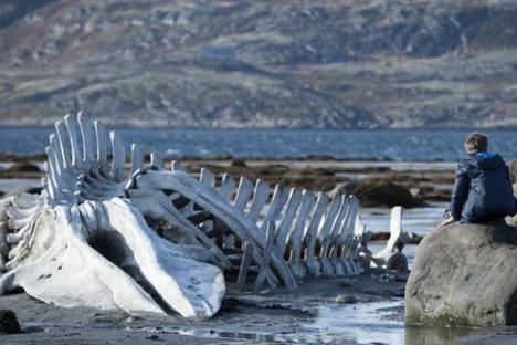 """Eine Spielszene aus dem Film """"Leviathan"""" von Andrej Swjaginzew. Foto: Kinopoisk"""