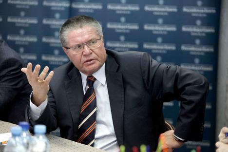 Der russische Wirtschaftsminister sieht kein Risiko für die Staatskasse. Foto: Olessja Kurpjajewa/Rossijskaja Gaseta