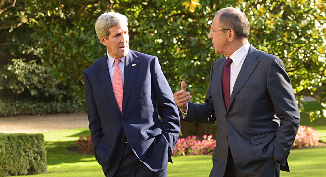 Russland und die USA wollen gemeinsam gegen den Islamischen Staat kämpfen. Foto: Eduard Pesow/Russisches Außenministerium