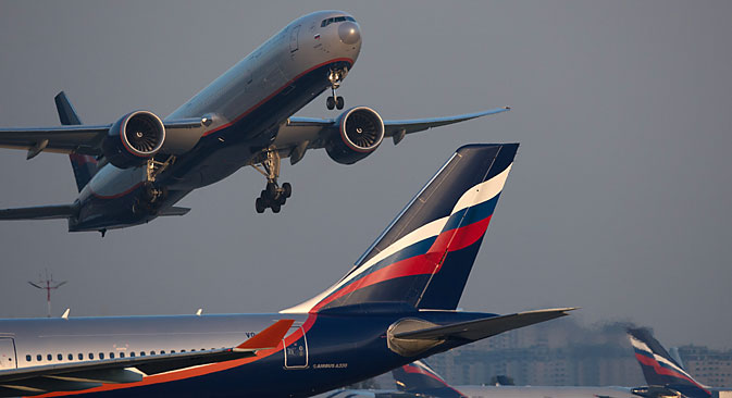 Aeroflot glaubt auch ohne Markennamen an den Erfolg des neuen Lowcosters. Foto: Maxim Blinow/RIA Novosti