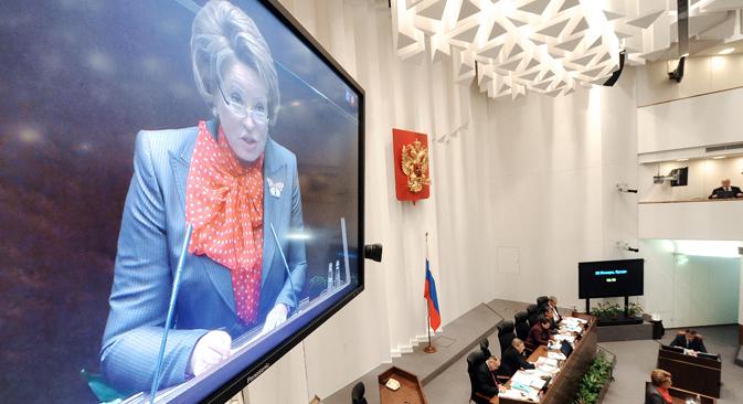 Frauen in leitenden Ämtern sind seit dem Zerfall der UdSSR eine Seltenheit. Foto: Ilja Pitalew/RIA Novosti