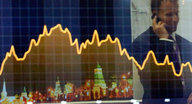 Moody's zeichnet negative Aussichten für Russlands Wirtschaft. Foto: Reuters