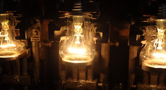 Russische Verbraucher bevorzugen traditionelle Glühlampen. Foto: Stanislaw Krasilnikow/TASS