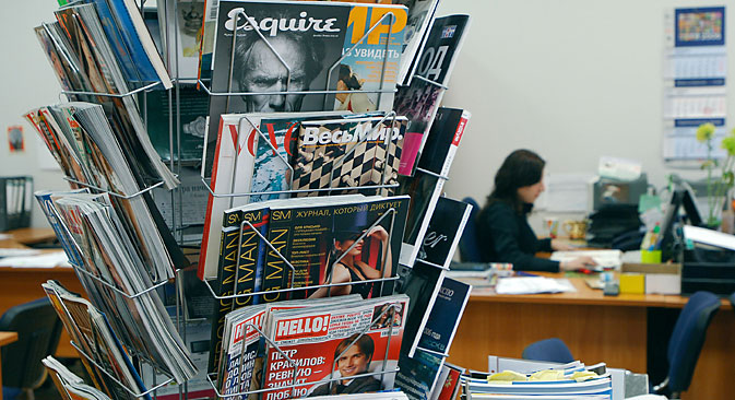 Ausländische Medienunternehmen fürchten um ihre Marken in Russland. Foto: ITAR-TASS