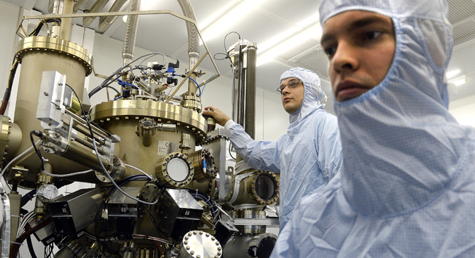 Studenten des Ingenieurphysikalischen Instituts MIFI. Foto: ITAR-TASS