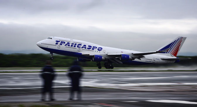 Der schwache Rubel führt zu höheren Kosten bei den Fluggesellschaften. Foto: TASS