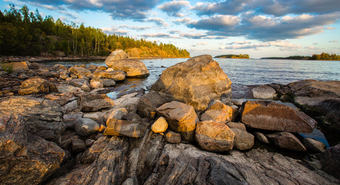 Ladogasee nahe Lachdenpochja. Foto: Shutterstock/Legion Media