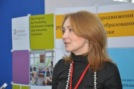 """""""Um in Russland an einer Universität """"Russisch als Fremdsprache"""" zu studieren, ist in der Regel ein Bachelor-Abschluss Voraussetzung, da es sich um einen Masterstudiengang handelt"""", sagt Margarita Rusezkaja. Foto: Gleb Fjodorow"""