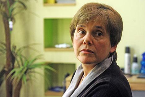 Irina Prochorowa fordert mehr staatliche Unterstützung für den Buchhandel. Foto: Photoshot/Vostock Photo