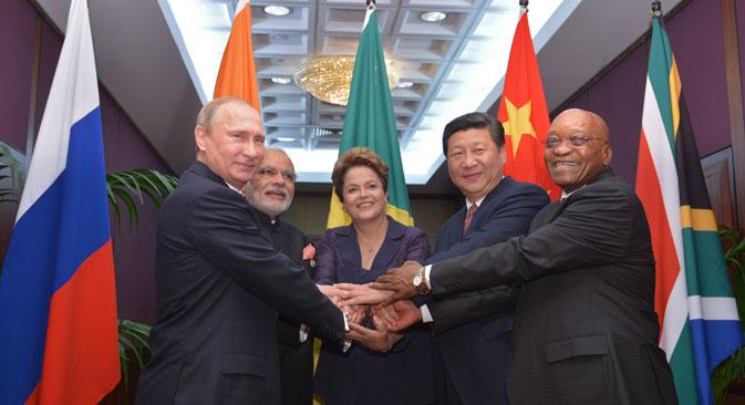 Die BRICS-Länder bringen in Brisbane ihre Alternative zum IWF voran. Foto: Alexej Druschinin/RIA Novosti