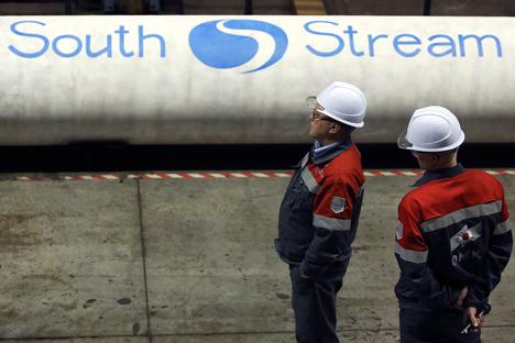 """""""Ohne South Stream wird es relativ schwierig, vor dem Hintergrund der instabilen Lage in der Ukraine Europa ausreichend mit Gas zu versorgen"""", glauben Experten. Foto: Reuters"""