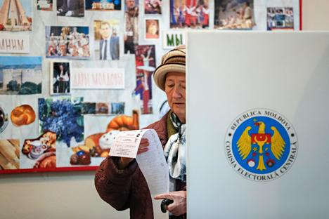 """Der """"Kommersant"""" bezeichnet die diesjährige Durchführung der Wahl in Moldau als """"skandalös"""": Der Server für das elektronische Wählerverzeichnis sei ausgefallen. Foto: Reuters"""