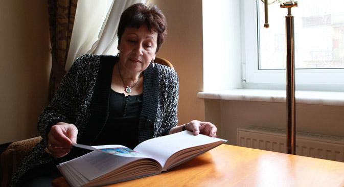 Schon als 16-Jährige machte Rubina als Autorin auf sich aufmerksam. Als Schülerin schickte sie eine Erzählung in die ferne Moskauer Redaktion. Foto: Anton Denisow/RIA Novosti