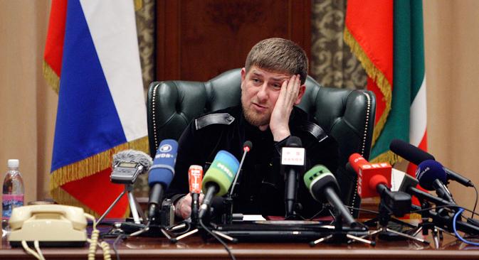 Die Arbeit von Menschenrechtlern war in Tschetschenien immer erschwert, zeitweise sogar gefährlich. Im Jahr 2009 wurde in Grosny Natalja Estemirowa, eine Mitarbeiterin der Organisation Memorial, ermordet. Foto: Reuters