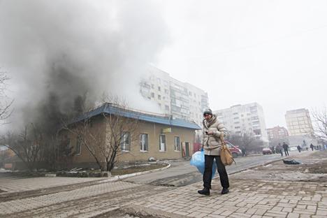 Russland gerät durch den Kampf um Mariupol erneut in internationale Kritik. Foto: AP