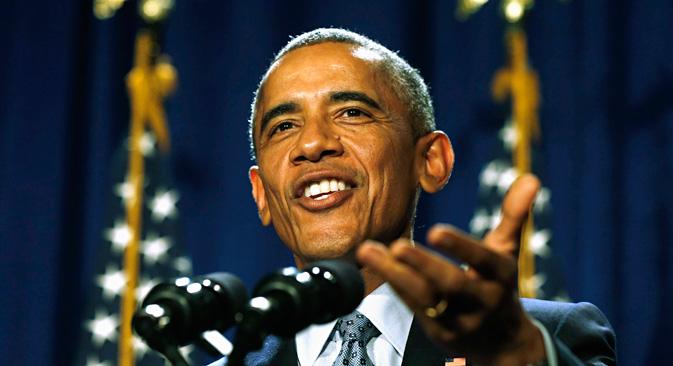 """Außenminister Sergej Lawrow nannte Obamas Äußerungen """"eine Bestätigung, dass die USA von Anfang an direkt in diesem Regierungsputsch involviert waren. Foto: Reuters"""