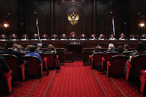 Russisches Verfassungsgericht stärkt die Rechte HIV-infizierter Migranten. Foto: Alexej Danitschew/RIA Novosti