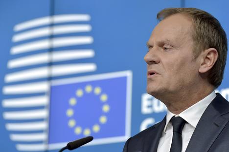 Predsednik Evropskega sveta Donald Tusk