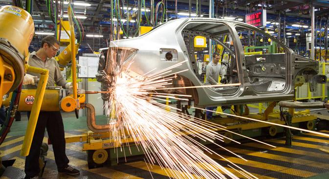 Russland ist einer der größten Automobilmärkte – was fehlt, sind qualifizierte Zulieferer und Produzenten. Foto: GettyImages/shutterstock