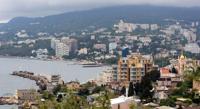 Die russische Regierung plant weitere Investitionen in die Infrastruktur der Krim. Foto: Taras Litwinenko/RIA Novosti