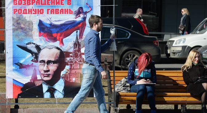 Finanzhilfen und Steuererleichterungen spülen Geld in die Krim-Kasse. Foto: Michail Woskresenskij/RIA Novosti