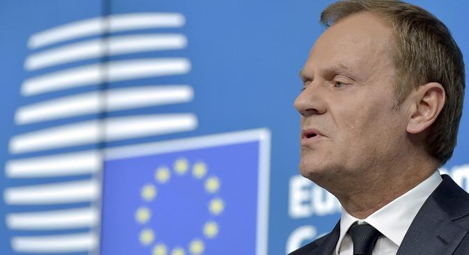 EU-Ratsvorsitzender Donald Tusk. Foto: Reuters