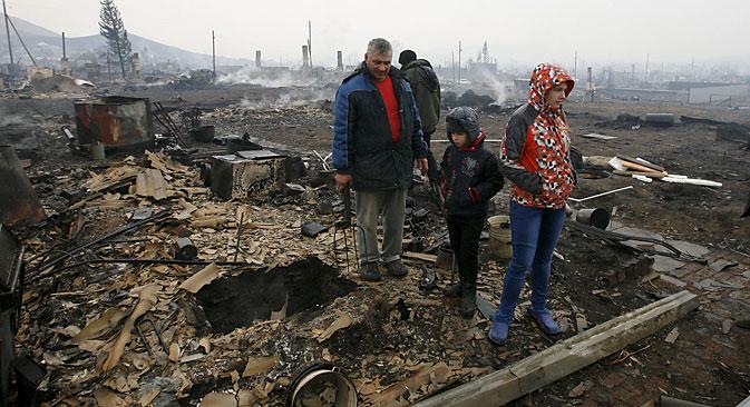 Brände in Sibirien:  30 Menschen starben, 5 000 wurden obdachlos. Foto: Reuters