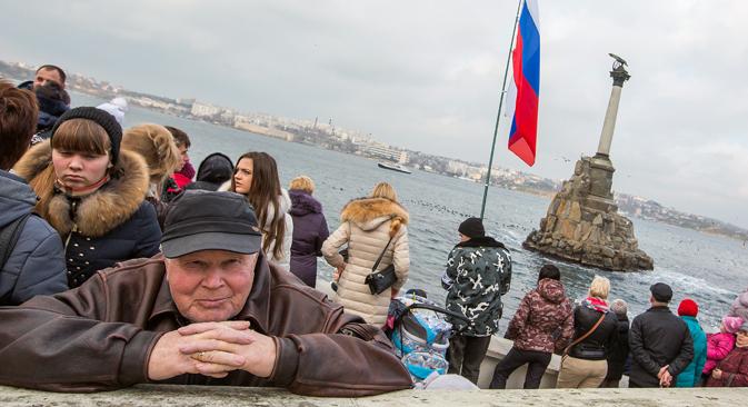 Amnesty International kritisiert Menschenrechtslage auf der Krim. Foto: Marina Lyszewa/TASS