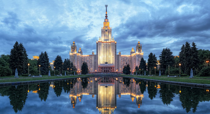 Die Moskauer Lomonossow-Universität plant ein neues Wissenschafts- und Forschungscluster. Foto: Lori/Legion Media