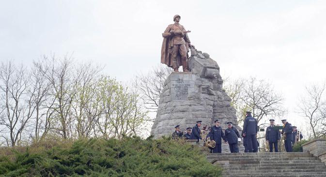 In Brandenburg wurde der Schlacht um die Seelower Höhen gedacht.  Foto: Dmitry Vachedin