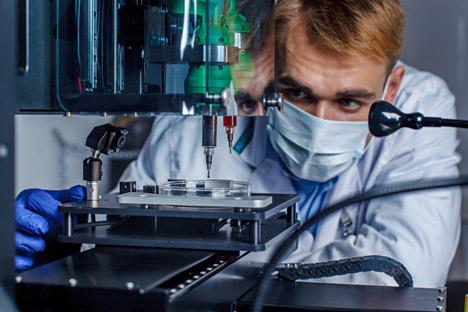 Russische Forscher drucken Organe