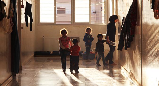 Die meisten Flüchtlinge wollen nicht mehr zurück nach Syrien. Foto: Dmitri Winogradow/RIA Novosti