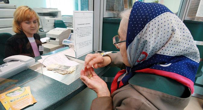 Russland will mit Rentengeldern Investitionen finanzieren. Foto: Ruslan Kriwobok/RIA Novosti