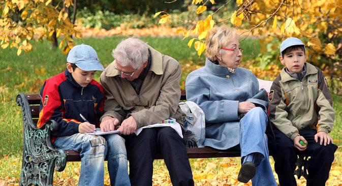80 Prozent der Russen lehnen die Idee ab, länger zu arbeiten. Foto: Wladimir Fedorenko/RIA Novosti