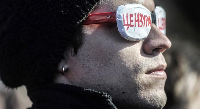 """""""Zensur"""": Moderne Kulturschaffende werden in Russland oft angegriffen.  Foto: TASS"""
