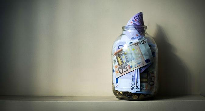Russlands Bruttoinlandsprodukt sinkt im März um 3,4 Prozent. Foto: Sergej Bobylew/TASS