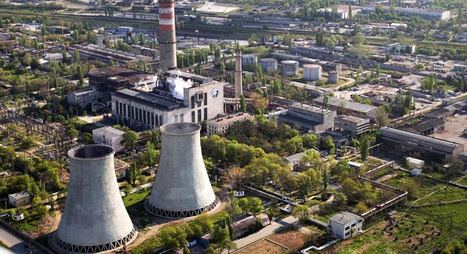 Energie für die Krim: Erdgaspipeline könnte Versorgungsprobleme lösen. Foto: Taras Litwinenko/RIA Novosti