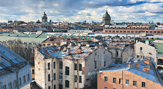 """Platz 9 in Europa und Platz 17 weltweit: Sankt Petersburg gehört laut Reiseportal """"Tripadvisor"""" zu den besten Urlaubszielen in Russland. Foto: Alexander Petrosjan/FocusPictures"""