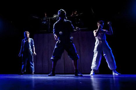 """In der vergangenen Woche präsentierte das Upsala-Zirkus in Düsseldorf und Bonn ein neues Programm """"Der Ping-Pong-Effekt"""". Foto: Pressebild"""