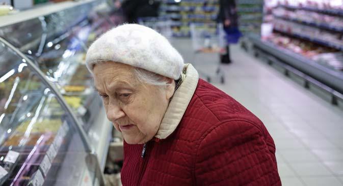 Den russischen Rentnern droht eine Nullrunde. Foto: Artjom Geodakjan/TASS