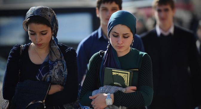 Immer mehr Frauen in Tschetschenien werden Opfer von Gewalt und Diskriminierung. Foto: RIA Novosti