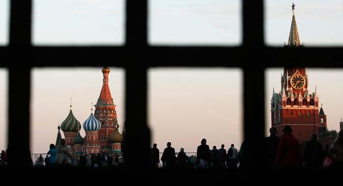 Russland antwortet mit dem Einreiseverbot auf EU-Sanktionen. Foto: Reuters